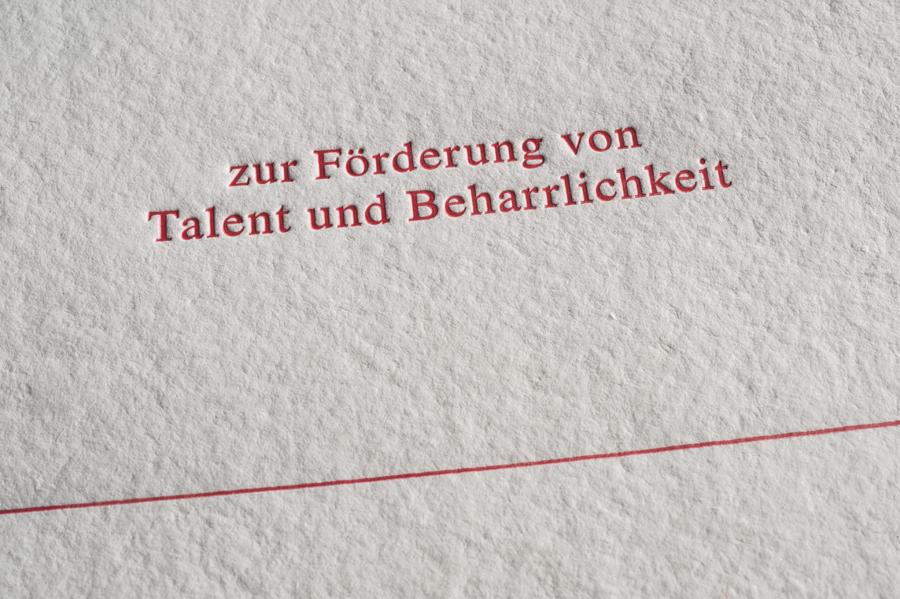 Hubert von Goisern - Urkunde -