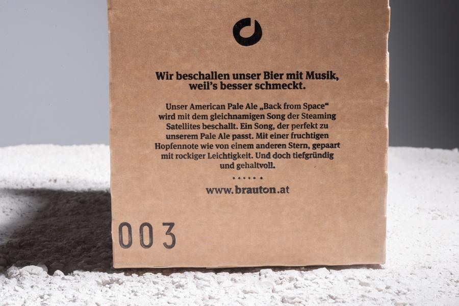 Bierkarton für brauton Salzburg