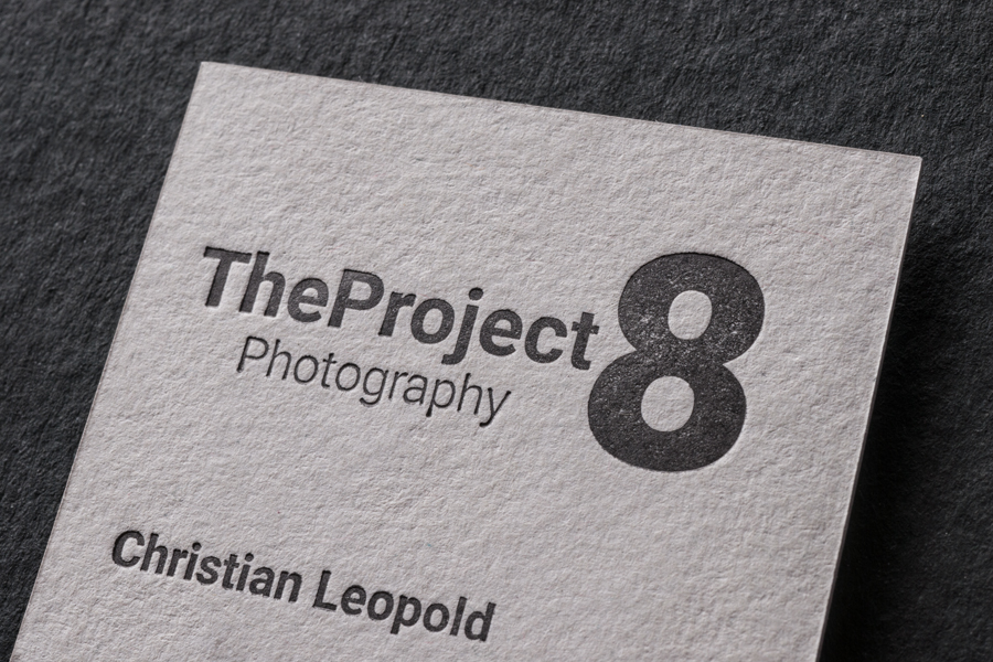 visitenkarten für TheProject 8 Christian Leopold photography